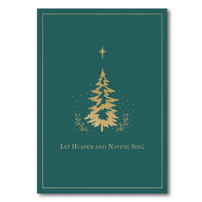 Boxed Christmas Cards.Let Heaven And Nature Sing Boxed Christmas Cards
