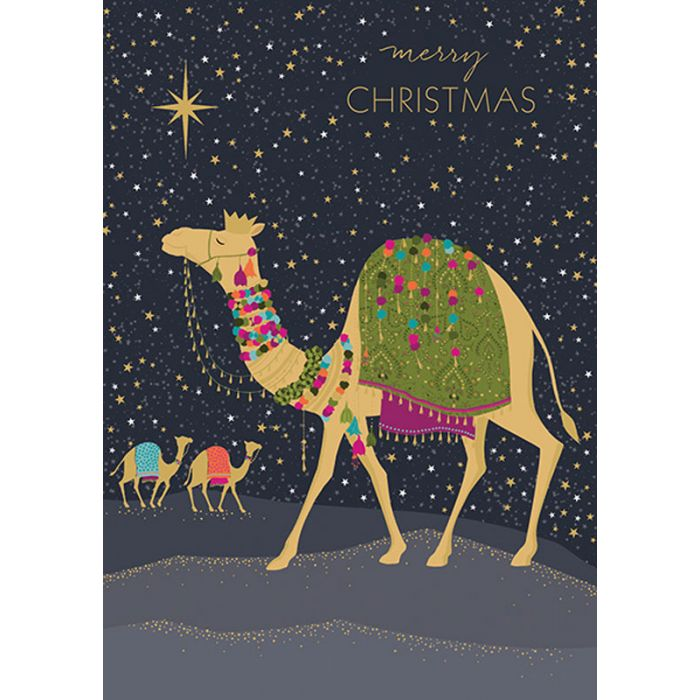 Unique Boxed Christmas Cards.Camel Boxed Christmas Cards