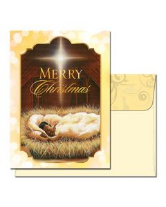 Merry Christmas Baby Jesus Cards