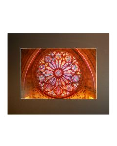 "West Rose Window, 11"" x 14"" Print"