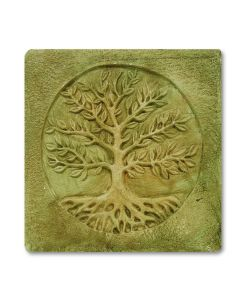 Handcrafted Square Tree of Life Wall Hanging