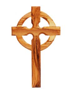Olive Wood Celtic Cross