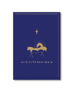 ''Glory to the Newborn King'' Embellished Boxed Christmas Cards