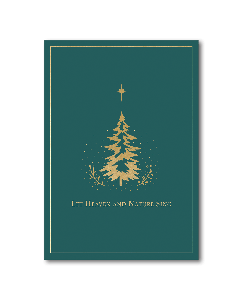''Let Heaven and Nature Sing'' Boxed Christmas Cards