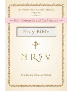 NRSV Catholic Gift Bible  - White