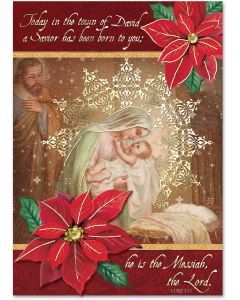 Luke 2:11 Embellished Cards