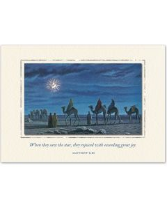 ''Follow the Star'' Embellished Christmas Cards