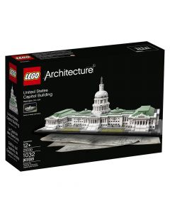 United States Capitol Building Lego Set