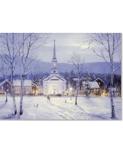 ''Oh Holy Night'' Deluxe Boxed Christmas Cards