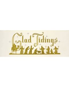 ''Glad Tidings'' Panoramic Boxed Christmas Cards