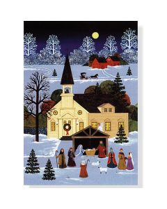 ''Country Nativity'' Boxed Small Cards