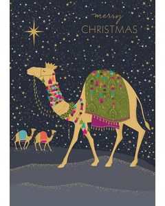 ''Camel'' Boxed Christmas Cards
