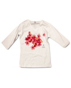 "Ladies Cathedral Logo ""Cherry Blossom"" Tee"