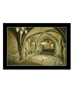 ''Down the Crypt'' Matted Print
