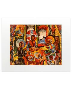 Matted Print | The Appearance on the Road to Emmaus