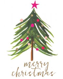 ''Christmas Tree''  Boxed Holiday Cards