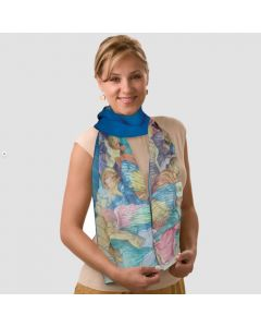 Angels Silk Oblong Scarf