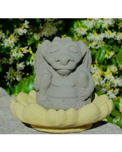 Outdoor Small Meditating Gargoyle