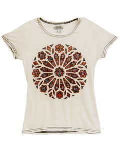 Ladies' Rose Window Tee