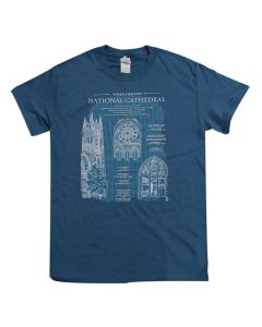 Adult Cathedral ''Blueprint'' Tee