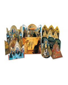 12 Die-Cut Assorted Religious Cards