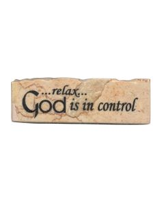 Promise Stone: Relax God's in Control