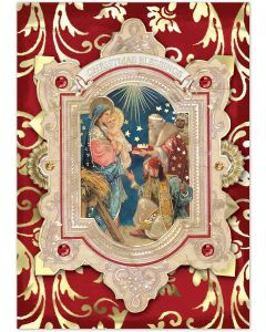 ''Christmas Blessings'' Embellished Christmas Cards