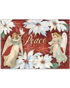 Peace on Earth Embellished Christmas Cards