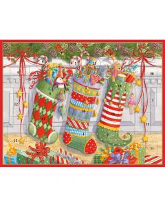 """Stockings on the Mantel"" Advent Calendar"