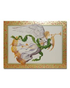 Trumpeting Angel Christmas Cards