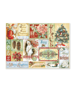 Holiday Nostalgia Dimensional Boxed Cards