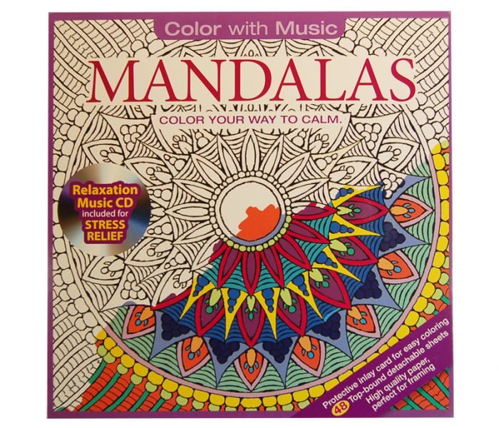 Color With Music Mandalas Color Your Way To Calm Cathedral Store - Mandalas-en-color